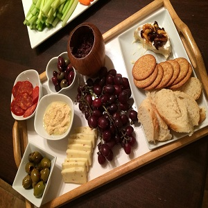Tips on making an appealing food platter